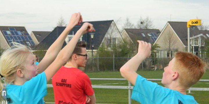 Korfbalschool Grou 1e training 2017